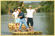 Bamboo Rafting and trek.